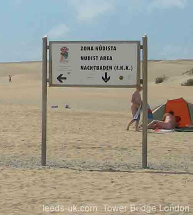 maspalomas nudist area